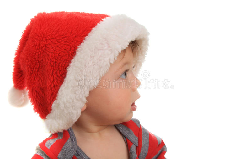 Download Santa baby stock photo. Image of baby, infant, gazing - 26614392