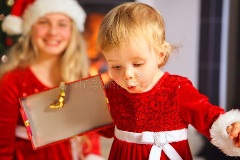 Santa Baby imagem de stock royalty free