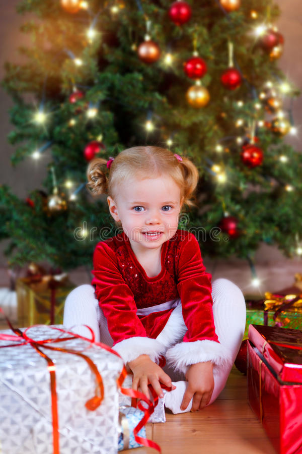 Santa Baby imagens de stock royalty free