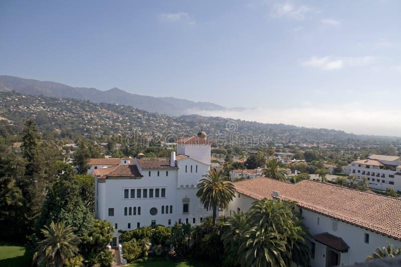 Download Santa Barbara stock image. Image of gate, view, tower - 16598717