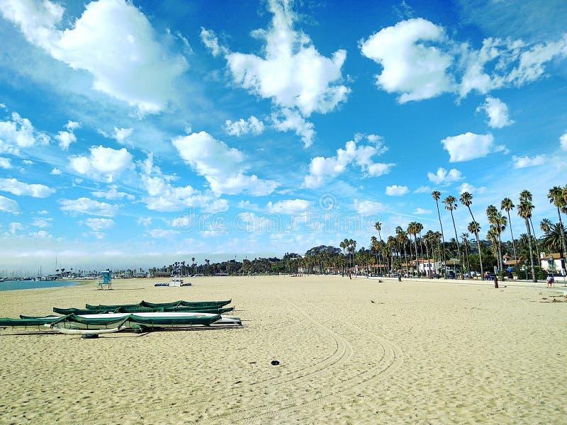 Santa Barbara Beach imagem de stock