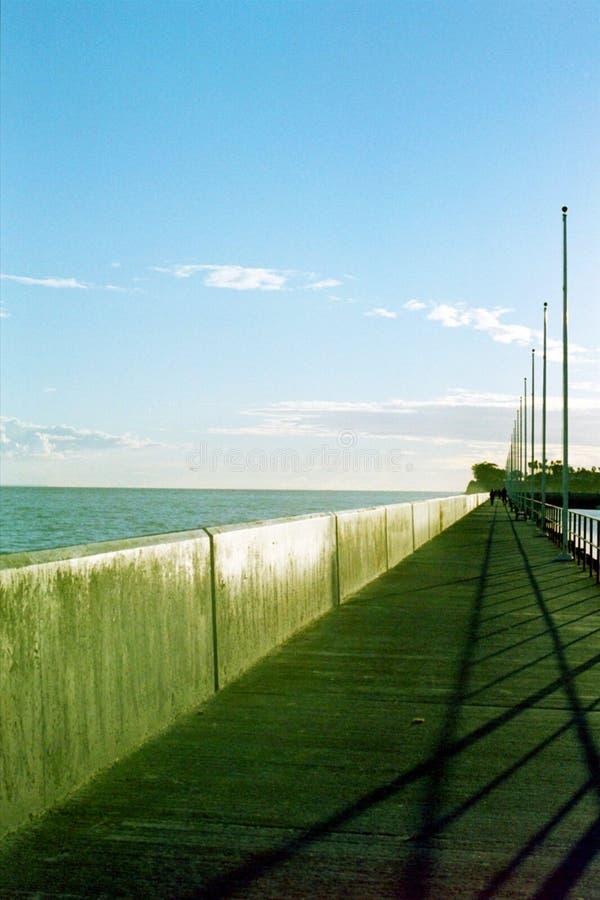 Santa Barbara Boardwalk (immagine del film) immagine stock