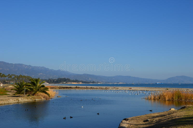 Santa Barbara, CA fotografia de stock royalty free