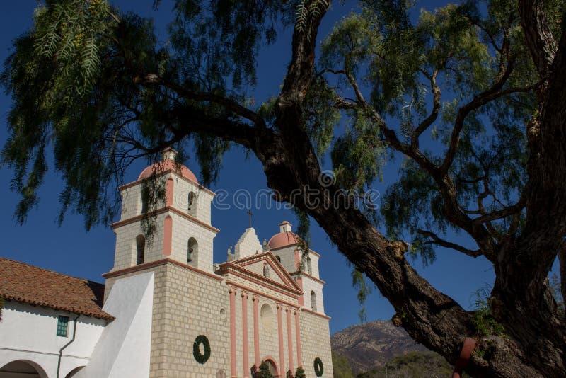 Santa Barbara, CA, U.S.A. - missione immagine stock libera da diritti
