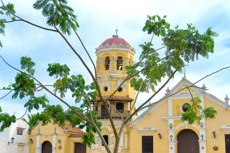 Download Santa Barbara Church Et Arbre Image stock - Image du historique, bolivar: 77153261