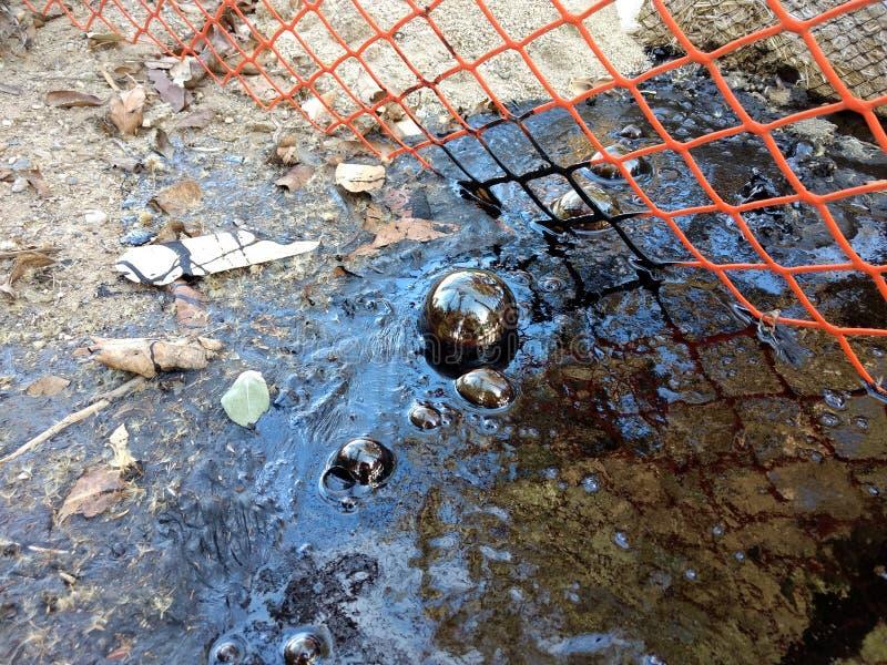 Santa Barbara County Oil Sphere stock photography