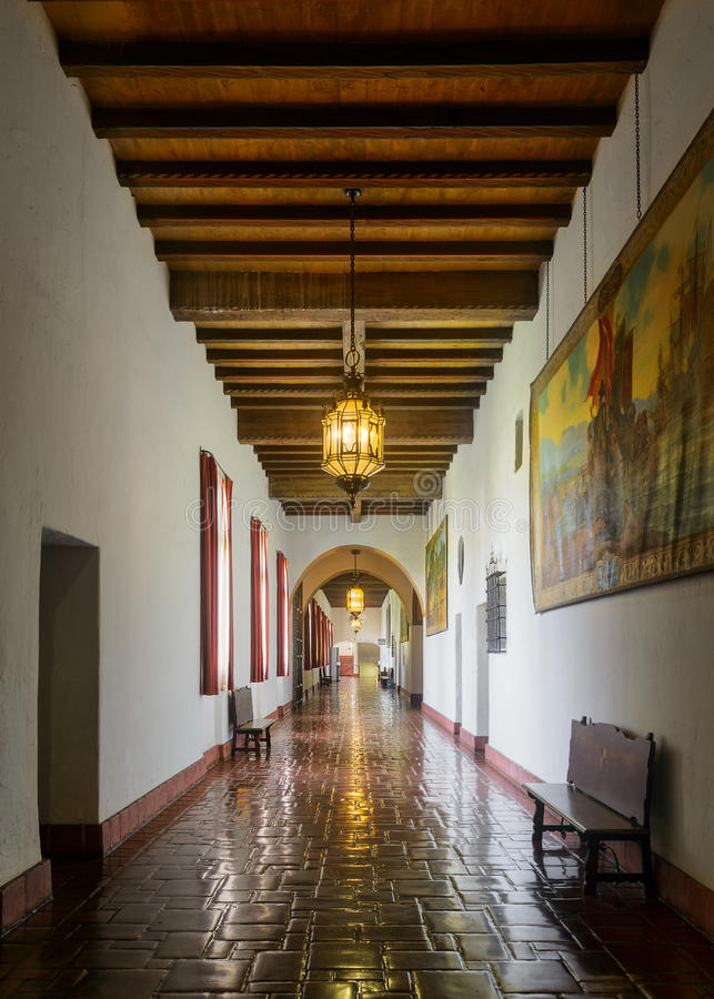 Santa Barbara Courthouse photo stock