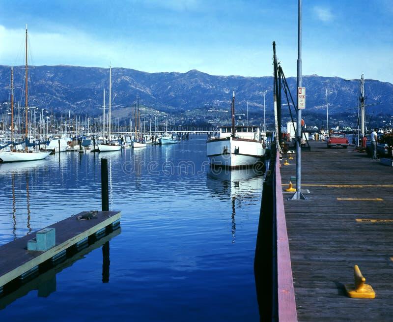 Download Santa Barbara Harbor stock photo. Image of scenic, horizontal - 4796198