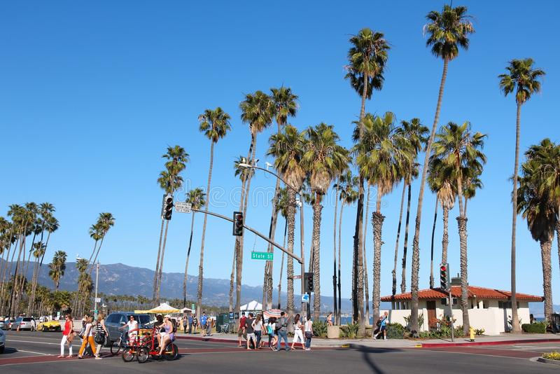Santa Barbara, Kalifornia zdjęcia royalty free