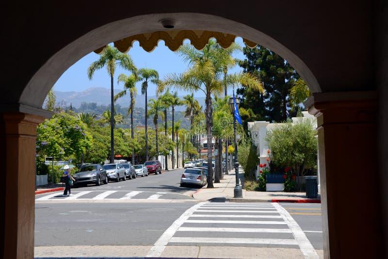 Santa Barbara obrazy royalty free