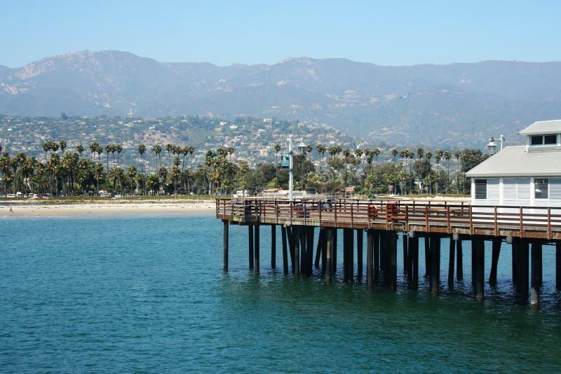 Santa Barbara, la Californie photos libres de droits