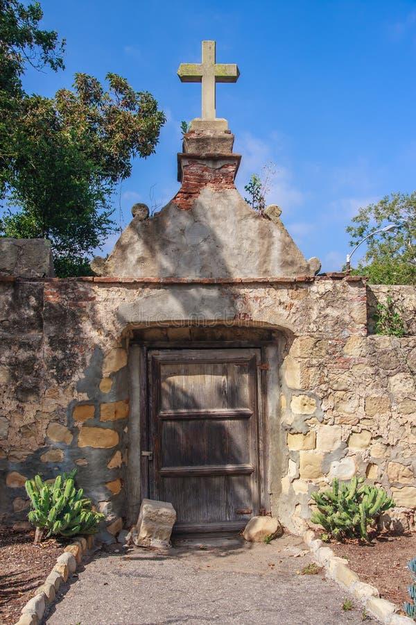Download Santa Barbara Mission stock image. Image of historic - 25023331