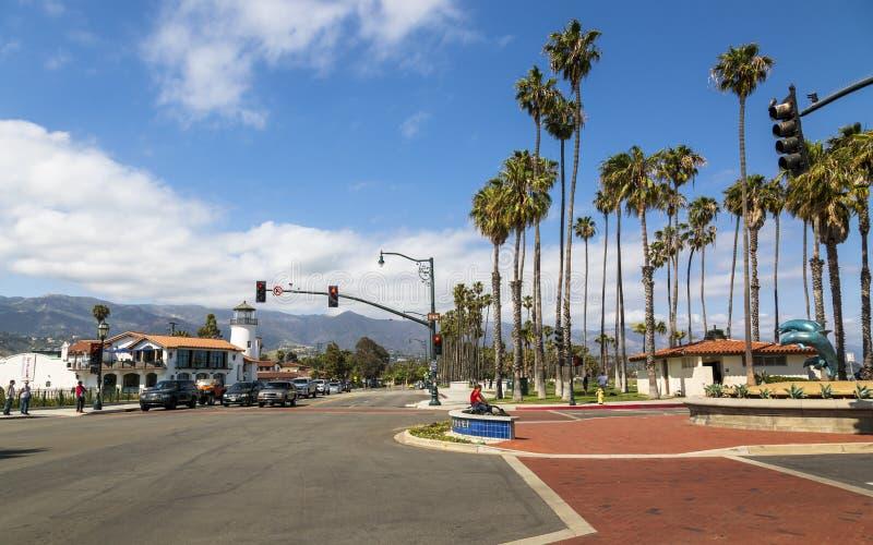 Santa Barbara, montañas de Malibu, California, los Estados Unidos de América, Norteamérica fotos de archivo