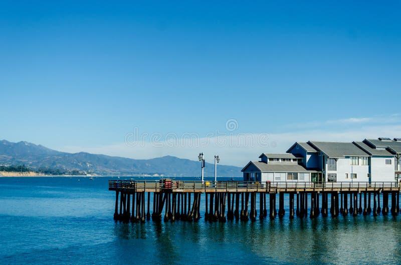 Santa Barbara-pijlermening royalty-vrije stock foto