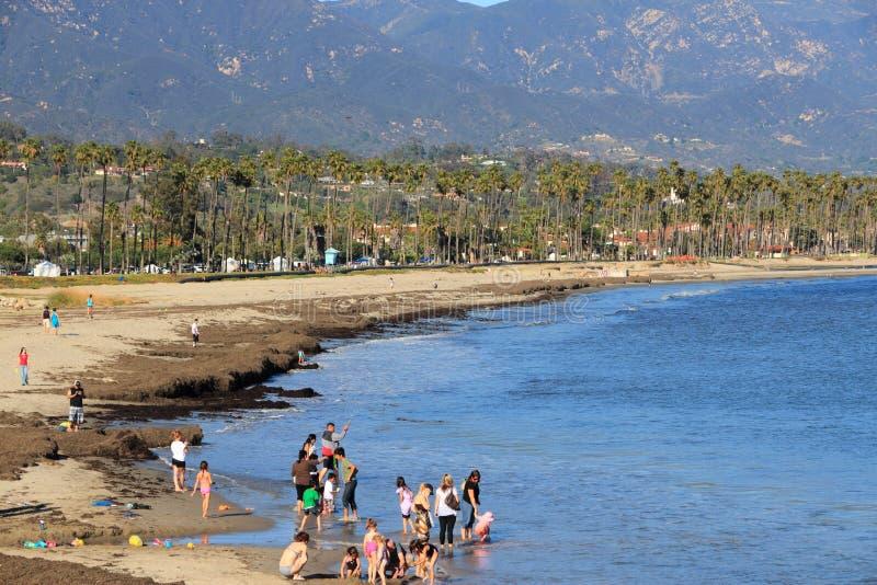 Santa Barbara plaża zdjęcia stock