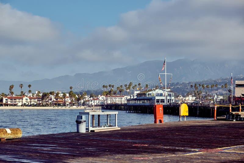 Santa Barbara Stearns Wharf photos stock