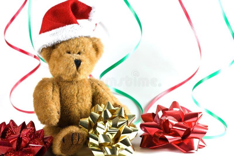 Santa bear. stock image