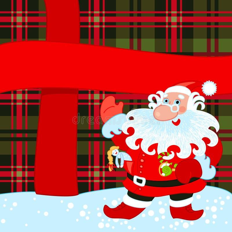 Download Santa And Big Present Royalty Free Stock Photo - Image: 21967195