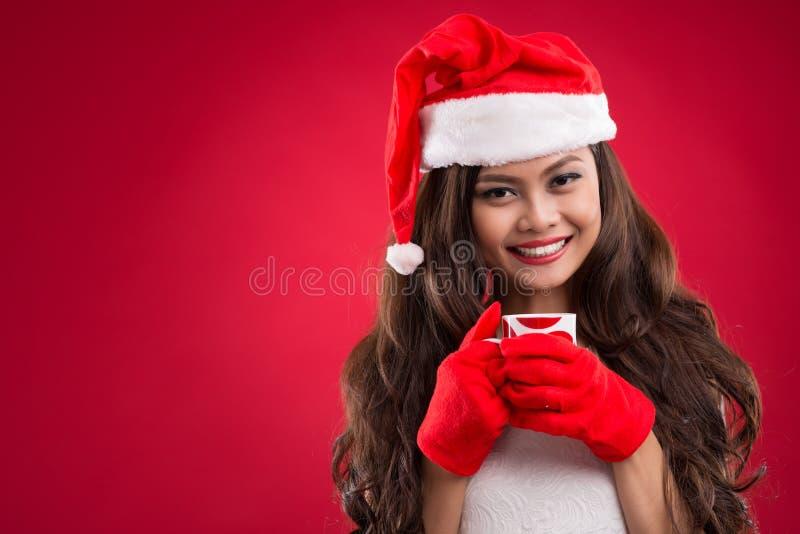 Santa bonita foto de stock