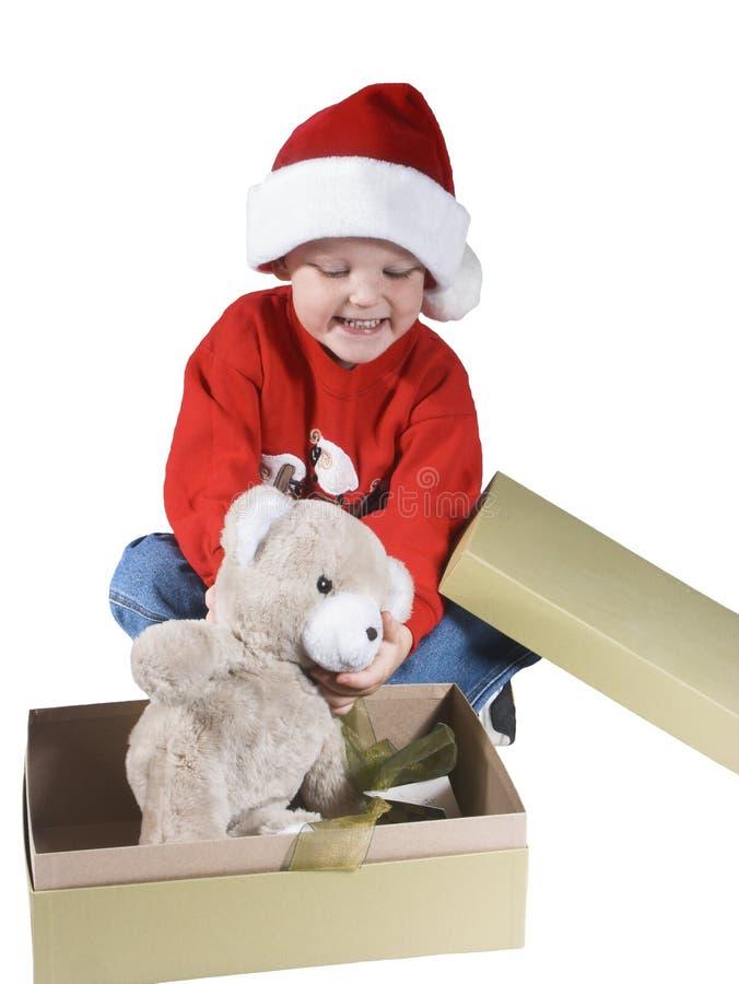 Santa boy#3 fotos de archivo