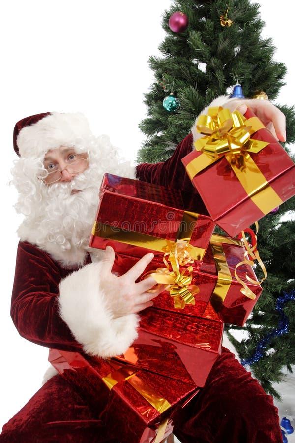 Santa c fotografia stock libera da diritti