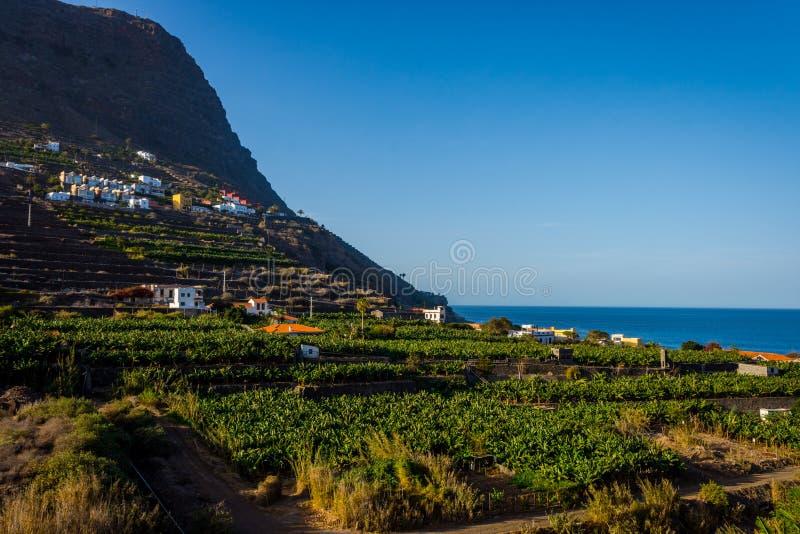 Santa Catalina bay, La Gomera royalty free stock image