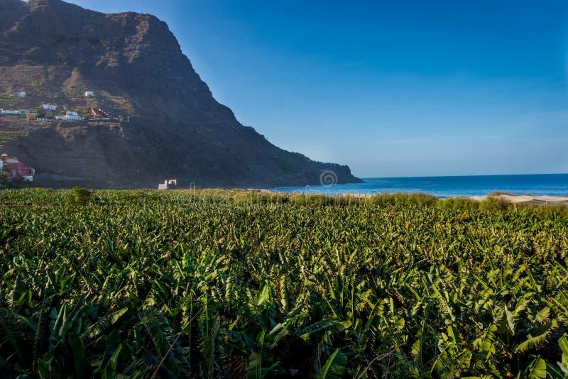 Santa Catalina bay, La Gomera stock photography