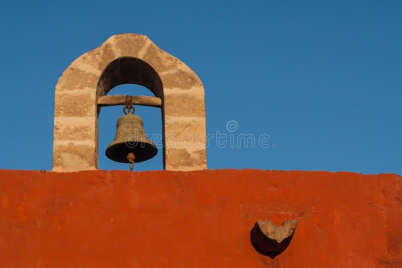 Santa Catalina Bell Tower imágenes de archivo libres de regalías