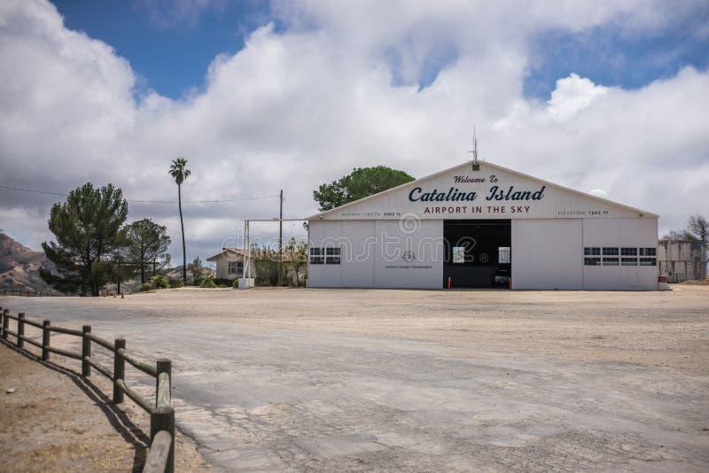 Santa Catalina Island Airport arkivbild