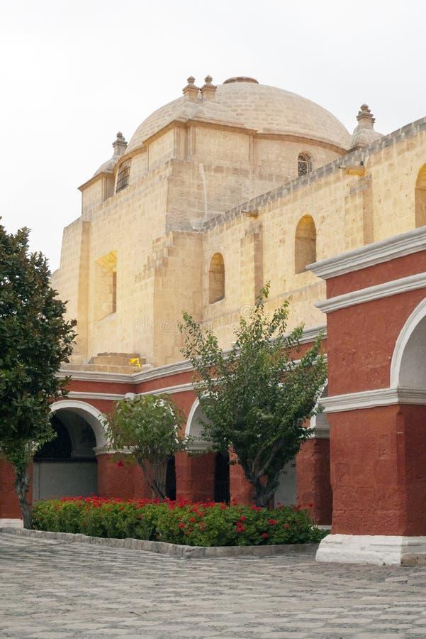 Santa Catalina kloster royaltyfri bild