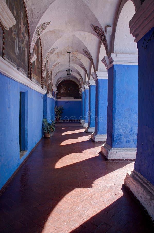 Santa Catalina, monasterio royaltyfria bilder