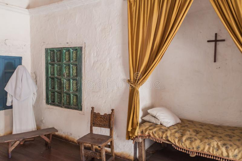 Santa Catalina Monastery à Arequipa image libre de droits