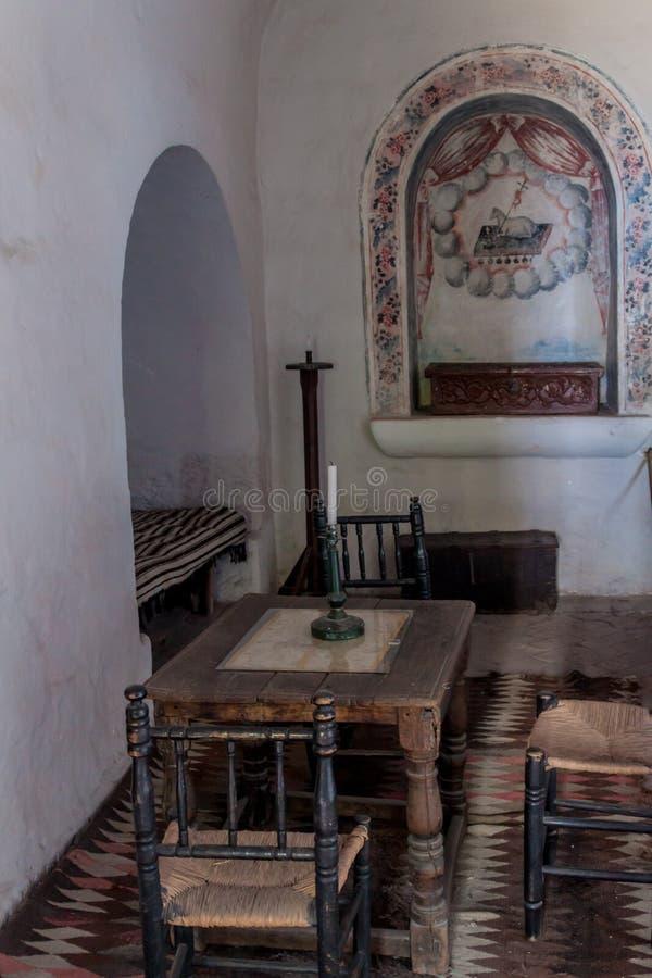 Santa Catalina Monastery à Arequipa images stock
