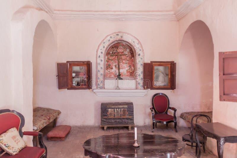 Santa Catalina Monastery à Arequipa image stock