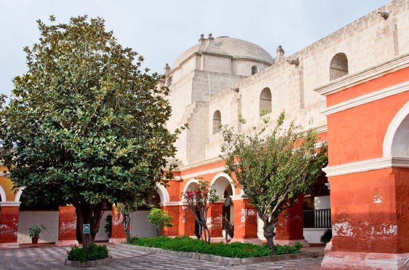 Santa Catalina Monastery à Arequipa, Pérou image libre de droits