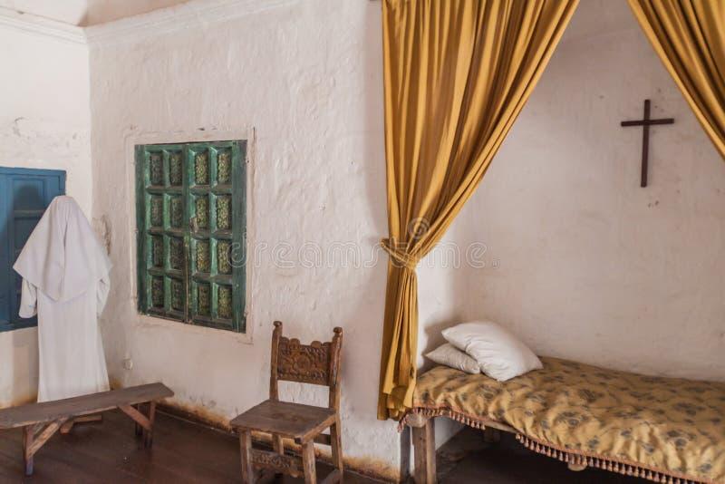 Santa Catalina Monastery in Arequipa royalty-vrije stock afbeelding