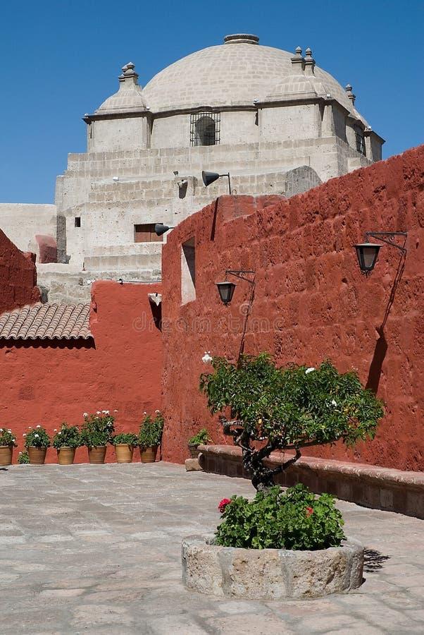 Santa Catalina Monastery, Arequipa, Peru royalty free stock photos