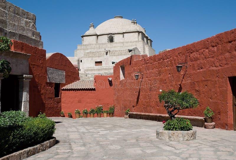Santa Catalina Monastery, Arequipa, Peru royalty free stock image