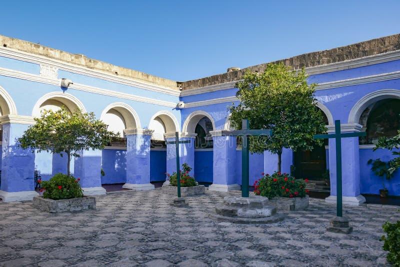 Santa Catalina Monastery, Arequipa Peru stock image