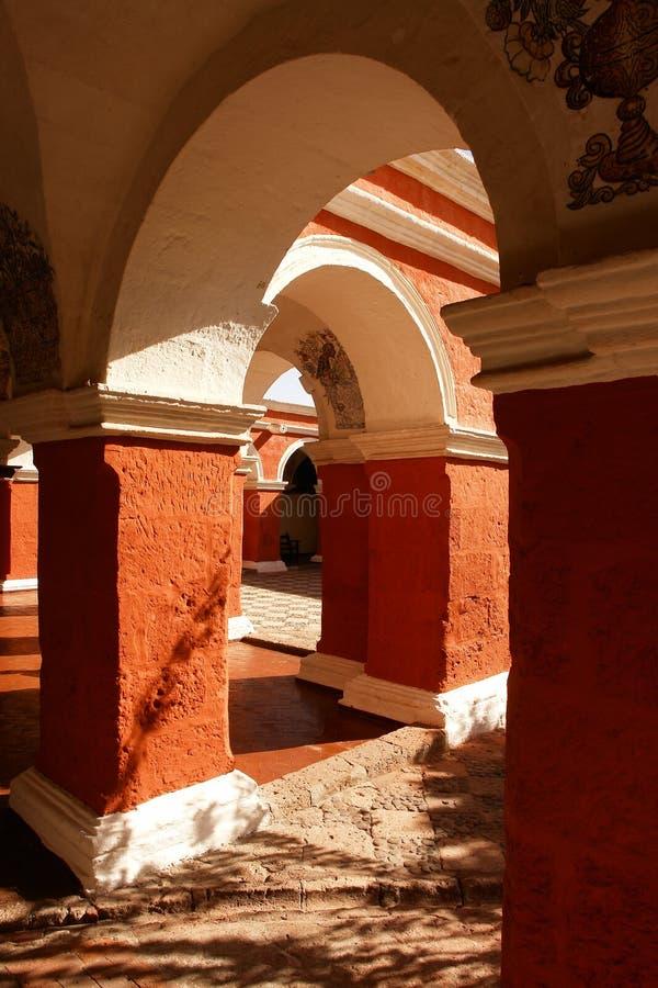 Santa Catalina Monastery von Arequipa lizenzfreie stockbilder