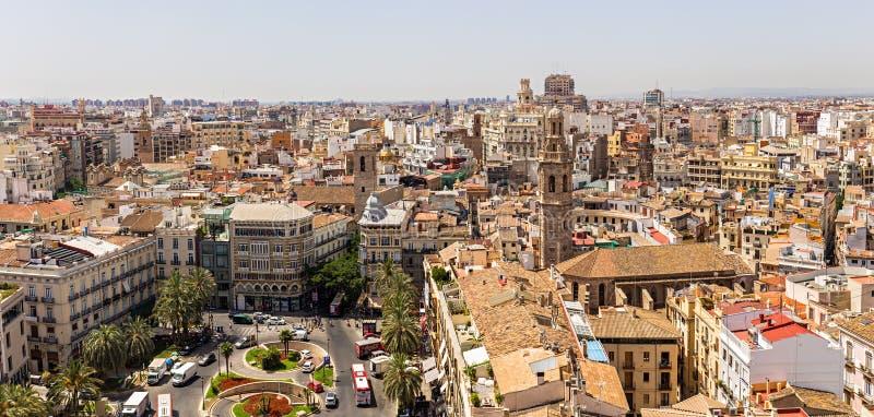 Santa Catalina tower in Valencia royalty free stock photos