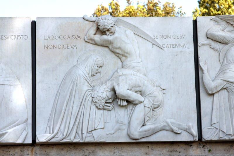 Santa Caterina Rome Italy stockbild
