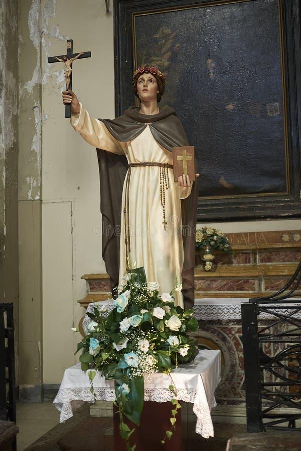 Santa Caterina Statue fotos de archivo libres de regalías