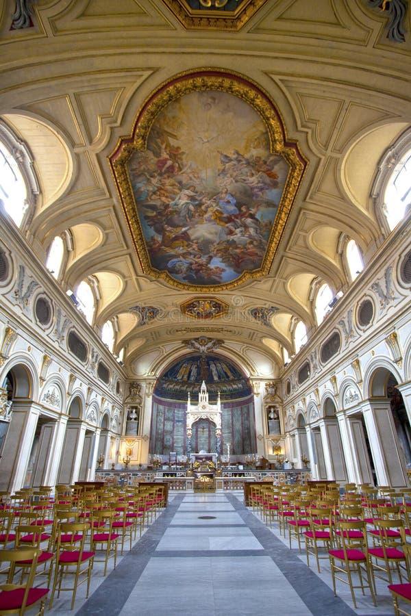 Santa Cecilia obraz royalty free