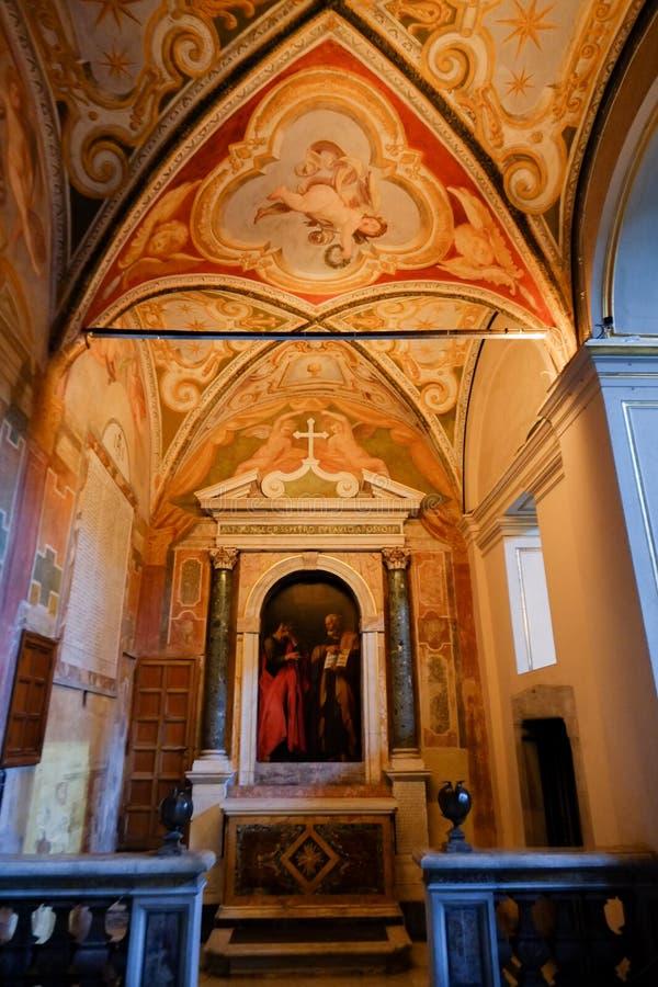 Santa Cecilia kościół w Rzym obraz royalty free