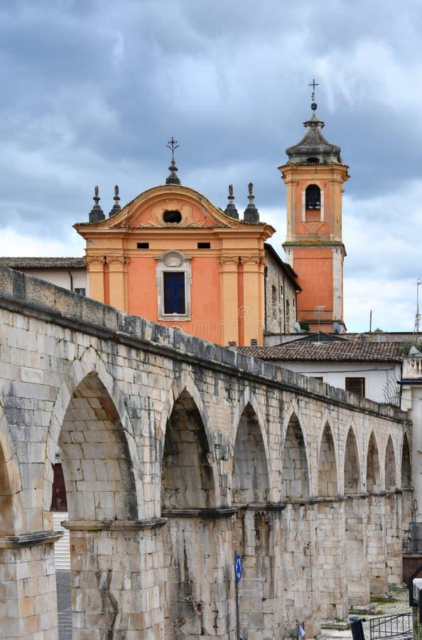 Free Santa Chiara Church, Sulmona, Abruzzo Stock Images - 147452574