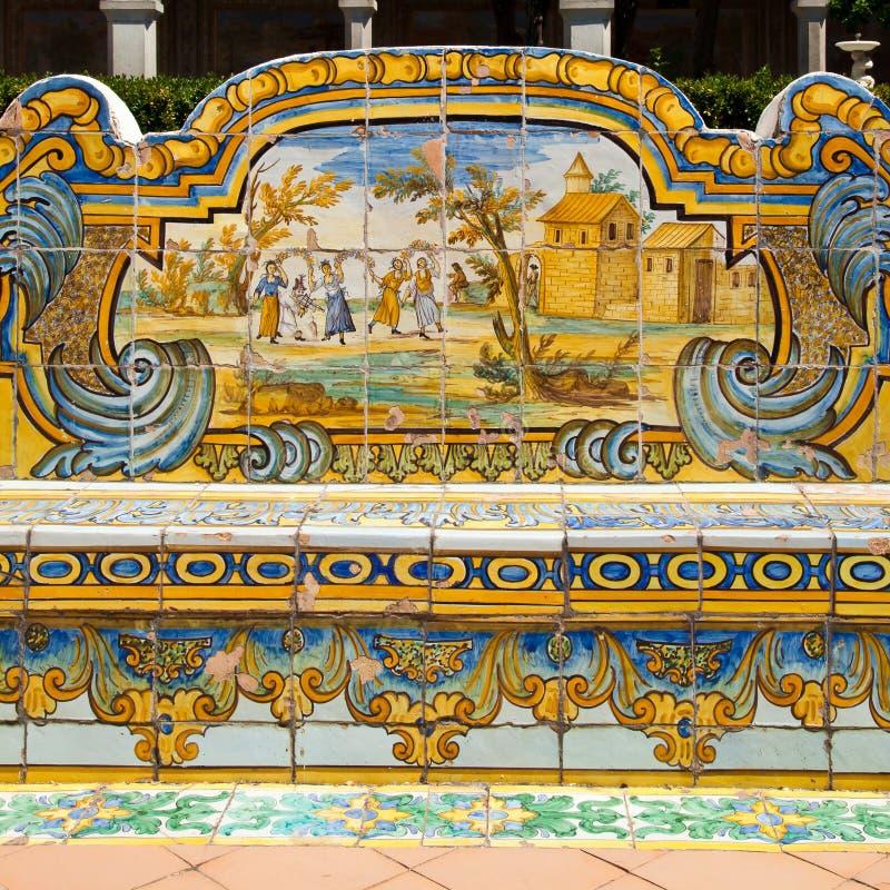 Santa- Chiarakloster - Neapel lizenzfreie stockbilder