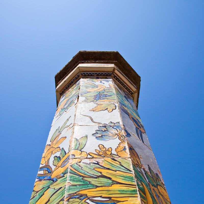 Santa- Chiarakloster - Neapel lizenzfreie stockfotos