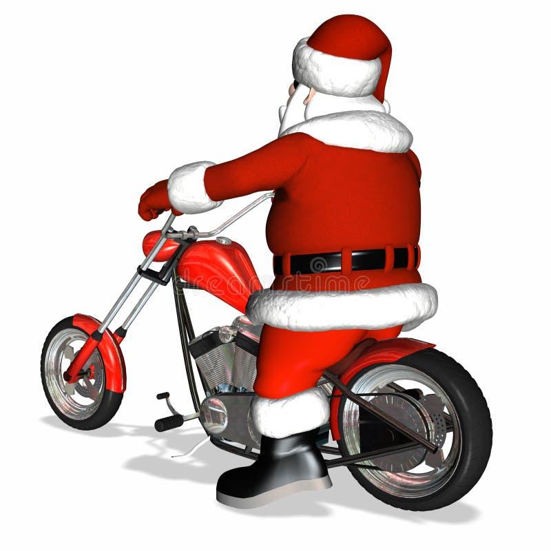 Download Santa Chopper 2 stock illustration. Illustration of christmas - 1490303