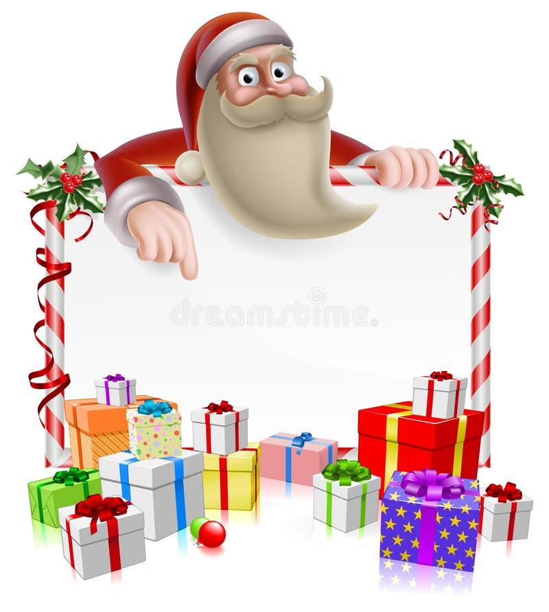 Free Santa Christmas Banner Royalty Free Stock Photography - 35347657